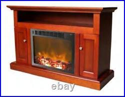 Cambridge Sorrento Fireplace Mantel with Electronic Fireplace Insert