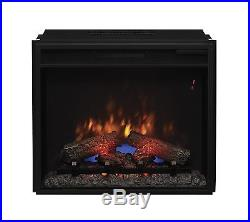 ClassicFlame 23EF031GRP 23 Electric Fireplace Insert with Safer Plug