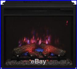 ClassicFlame 23EF031GRP Ventless Electric Fireplace Insert 4600 BTU