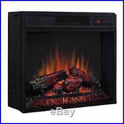 ClassicFlame 23 4600BTU Electric Fireplace Infrared Heater Insert 23EF033FGL