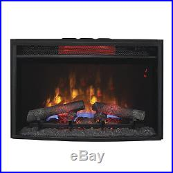 ClassicFlame 25-in Spectrafire Plus Infrared Electric Fireplace Insert