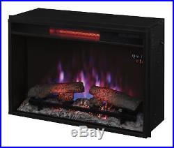 ClassicFlame 26II310GRA 26 Infrared Quartz Fireplace Insert with Safer P. New