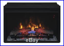ClassicFlame 26II310GRA 26 Infrared Quartz Fireplace Insert with Safer Plug