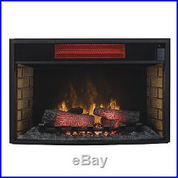 ClassicFlame 32-In Spectrafire Infrared Electric Fireplace Insert