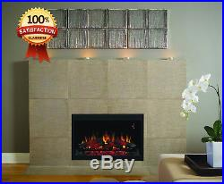 ClassicFlame 36EB110-GRT 36 Traditional Built-in Electric Fireplace Insert