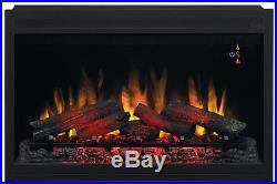 ClassicFlame 36EB110-GRT 36 Traditional Built-in Electric Fireplace Insert, 120