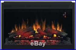 ClassicFlame 36EB110-GRT 36 Traditional Built-in Electric Fireplace Insert 1