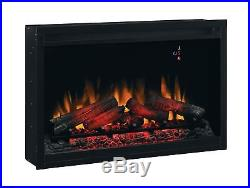 ClassicFlame 36EB220-GRT 36 Traditional Built-in Electric Fireplace Insert