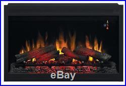 ClassicFlame 36EB220-GRT 36 Traditional Built-in Electric Fireplace Insert, 240