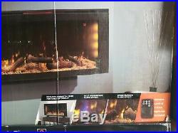 ClassicFlame 42 3D Infrared Quartz Electric Fireplace Insert with Safer Plug
