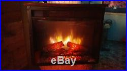Classic Flame 23EF031GRP custom wood fireplace insert electric heater 1500watts