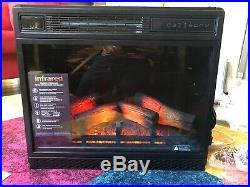 Classic Flame 23II042FGL 3D infrared quartz electric fireplace insert