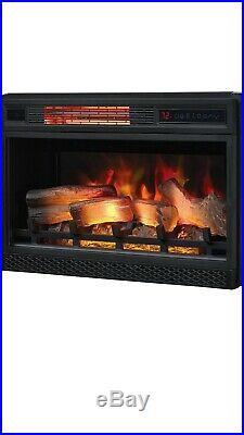 Classic Flame 26 3D Electric Fireplace Insert 26II042FGL + 29W X 11D X 20 H