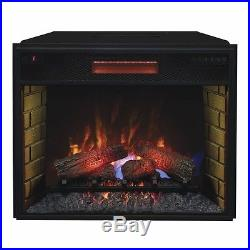 Classic Flame 28II300GRA 28 inch Infrared Spectrafire Plus insert withSafer Plug