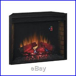 Classic Flame 28 28EF023SRA Electric Fireplace Insert with Mesh Front