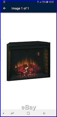 Classic Flame 28 Electric Fireplace Insert with Heater #28EF023SRA NEW