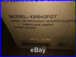 Classic Flame 42 3D Electric Fireplace Insert 42II042FGT