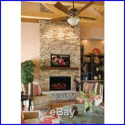 Classic Flame Electric Fireplace 36 in. 4,000 BTU Built-In Insert Remote Control
