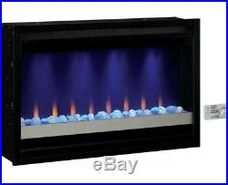 Classic Flame Electric Fireplace Insert 36 Contemporary Multi Color Heat Flame