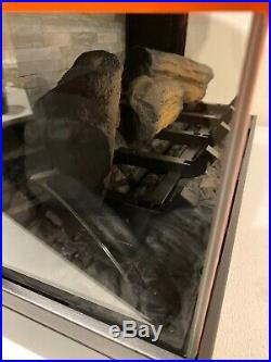 Classic flame electric fireplace Insert, 3D PANOGLOW