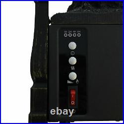 Comfort Glow ELCG364 Electric Log Insert, Heater & Rear Reflecting Panel