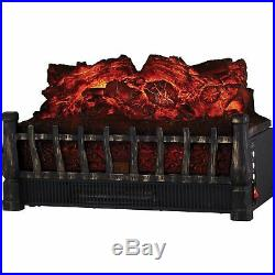 Comfort Glow Electric Log Insert Heater with Flame Projection (elcg251)