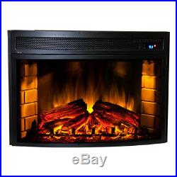 Comfort Smart Verve Fireplace 24 Curved Electric Fireplace Insert CS-501625