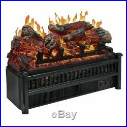 Convert Wood Retrofit Realistic Fire Flame Electric Log Fireplace Insert Heater