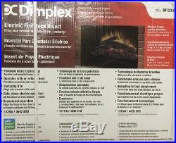 DIMPLEX Electric Fireplace Insert 23-Inch 120V/1375-Watts 4695BTU's NEW-Open Box