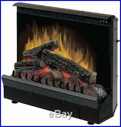 DIMPLEX NORTH AMERICA Black Finish Electric Fireplace Heater Insert