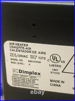 Dimplex 23 Log Set Electric Fireplace Insert Air Heater DFI2309 6901470100