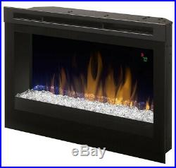Dimplex 25-In Contemporary Electric Fireplace Insert DFR2551G, Heater, LED
