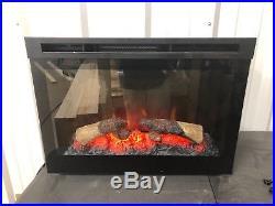 Dimplex 25 in. Electric Firebox Fireplace Insert