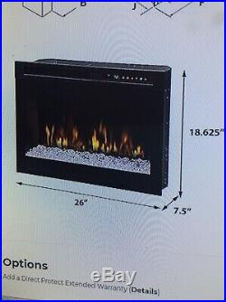 Dimplex 26 Multi-Fire XHD Comtemporary Electric Fireplace Insert-XHD26G