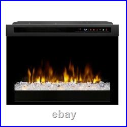 Dimplex 26 Multi-Fire XHD Comtemporary Electric Fireplace Insert-XHD26G-Remote