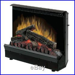 Dimplex DFI2309 23 Electric Fireplace Insert Heater with Remote 4695 BTU