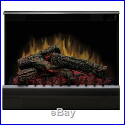 Dimplex DFI2310 Efficient Deluxe Heat 23 Inch Log Set Electric Fireplace Insert
