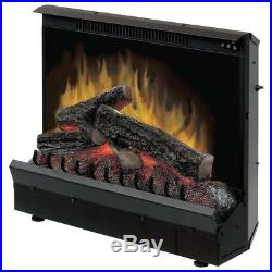 Dimplex DFI2310 Electric Fireplace Deluxe 23-Inch Insert Black 1375 Watts Flame