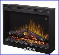 Dimplex DFR2651L Black 5118 BTU 26 Plug-In Electric Firebox Insert