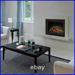 Dimplex Deluxe Electric Fireplace Insert with Trim Kit, 33-Inch