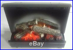 Dimplex Dfi2309 23 Electric Fireplace Insert Heater Logs Lighted =no Remote=