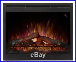 Dimplex Electric Firebox Fireplace Insert 26 in. Adjustable LED Flame Plug-In