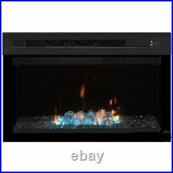 Dimplex PF2325HG 25 1000 sq. Ft. Multi-Fire 120 V Electric Fireplace, Black