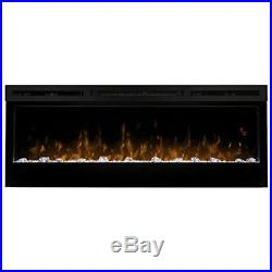 Dimplex Prism Wall Mount Linear Electric Fireplace Insert, Black