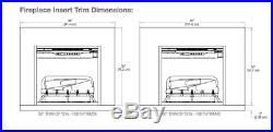 Dimplex Revillusion 24 Electric Built-in Firebox Fireplace RBF24DLXWC Insert