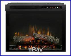 Dimplex XHD23L Multi-Fire XHD 5118 BTU 23 Inch Wide Insert Electric Firebox with