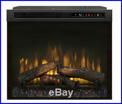 Dimplex XHD28L Multi-Fire XHD 5118 BTU 28 Wide Insert Electric Firebox with