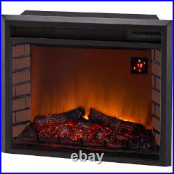 Duluth Forge 29in. Electric Fireplace Insert With Remote Control Model EL1346C