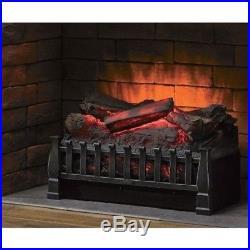Duraflame Electric Fireplace Insert Artificial Heater Log Portable RC 4600 BTU