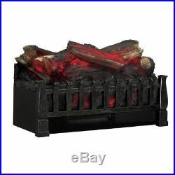 Duraflame Electric Fireplace Insert Portable Artificial Heater Faux Log 4600 BTU
